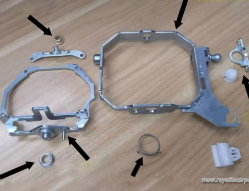 Audi A7 2011-2016 Headlight Update bi-xenon Projector Lens